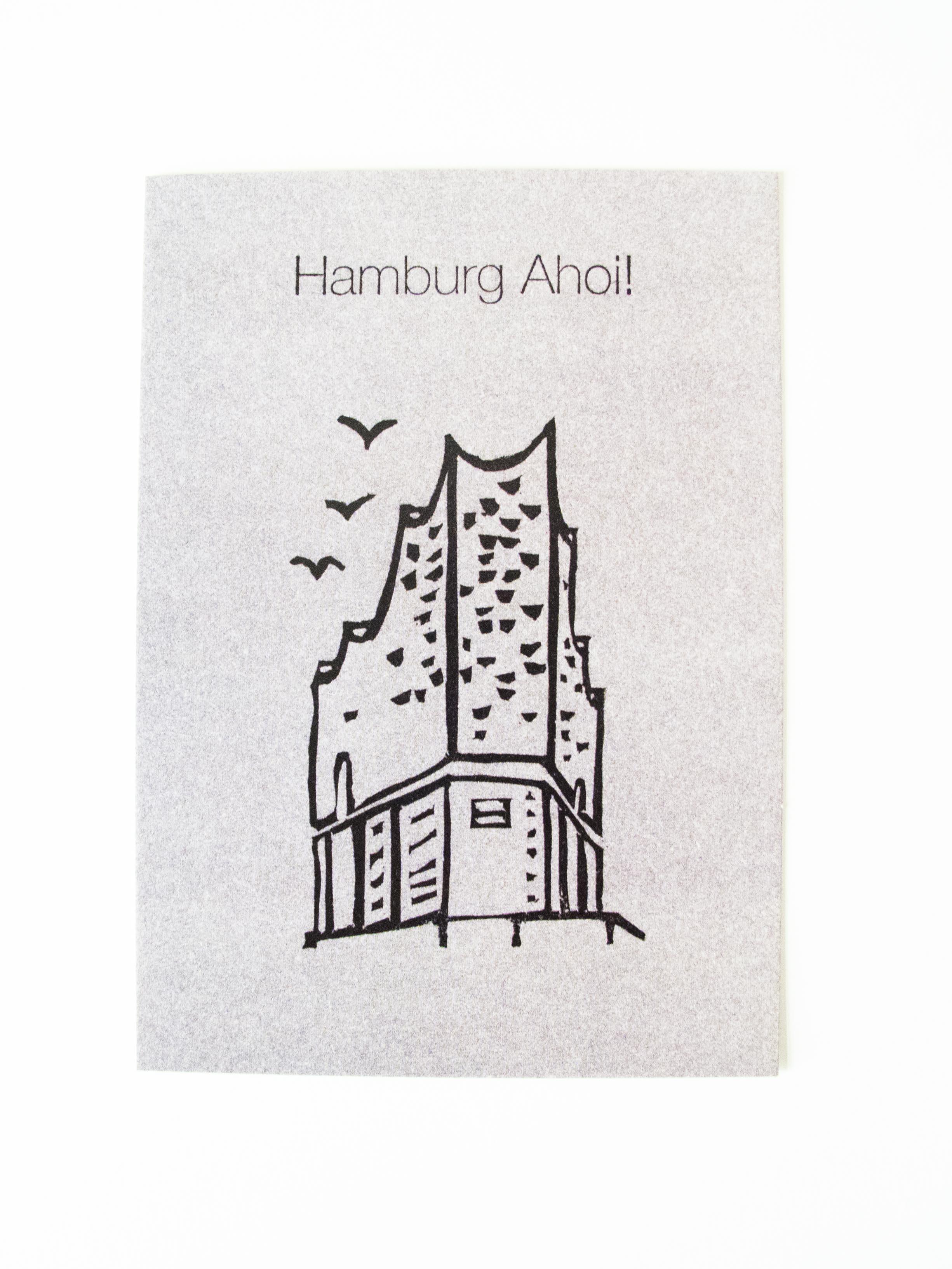 Elbphilharmonie Postkarte
